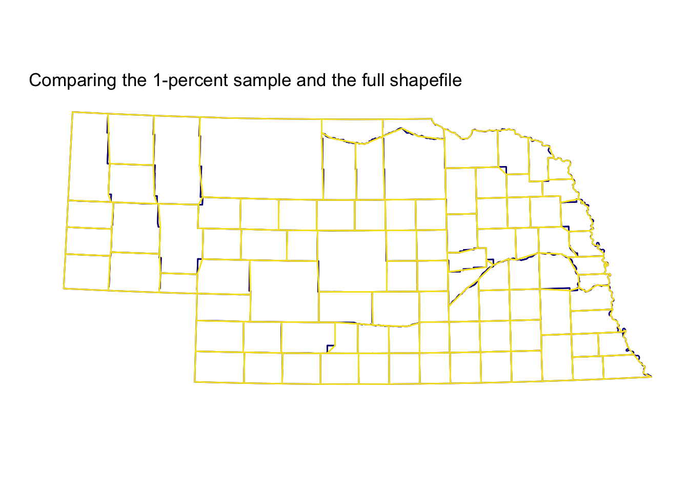 Efficiently mapping with ggplot2